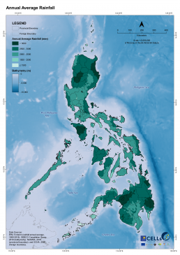 Annual Average Rainfall