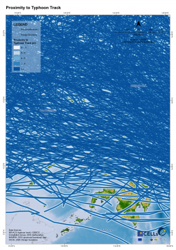 Proximity to Typhoon Track