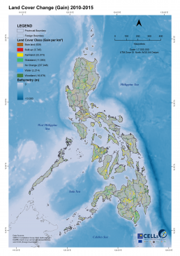 Land Cover Gain 2010-2015