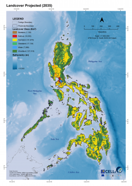 Land Cover Projected 2035