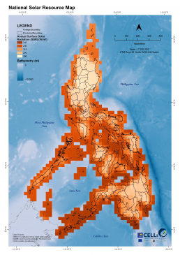 National Solar Resource Map