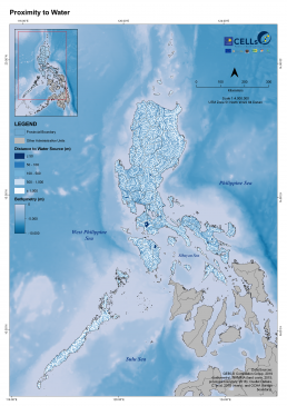 Luzon Proximity to Water
