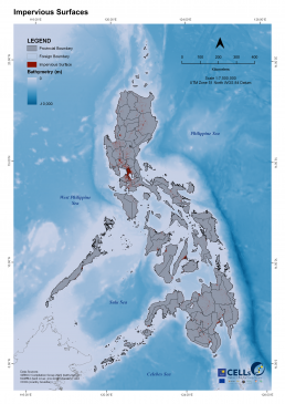 Philippines Impervious Surfaces