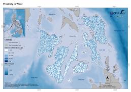 Visayas Proximity to Water