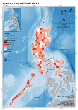 Luzon Agricultural Drought (2036-2065, RCP 4.5) 1