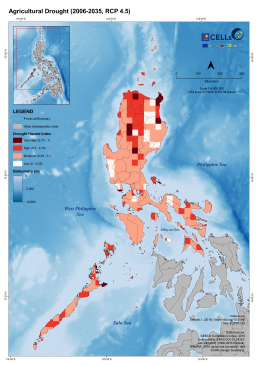 Luzon Agricultural Drought (2006-2035, RCP 4.5)