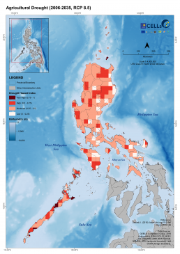 Luzon Agricultural Drought (2006-2035, RCP 8.5) 1