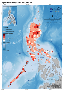 Luzon Agricultural Drought (2006-2035, RCP 8.5) 2