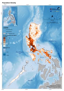 Luzon Population Density