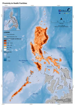 Luzon Proximity to Health Facilities