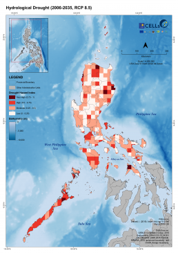 Luzon Hydrological Drought (2006-2035, RCP 8.5) 2