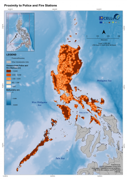 Luzon Proximity to Police and Fire Stations
