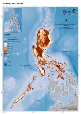 Luzon Proximity to Cropland