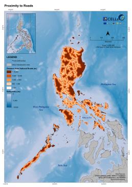 Luzon Proximity to Roads