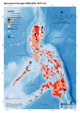 Agricultural Drought (2006-2035, RCP 4.5)