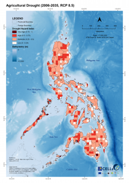 Agricultural Drought (2006-2035, RCP 8.5)