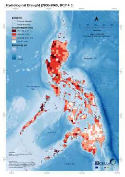 Hydrological Drought (2036-2065, RCP 4.5)