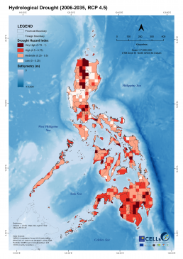 Hydrological Drought (2006-2035, RCP 4.5)