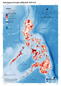 Hydrological Drought (2006-2035, RCP 8.5)