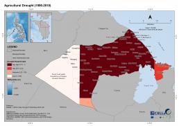 Naujan Agricultural Drought (1986-2018)