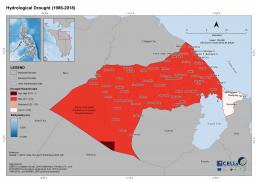 Naujan Hydrological Drought (1986-2018)